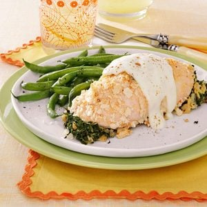Chicken with Cheese Sauce