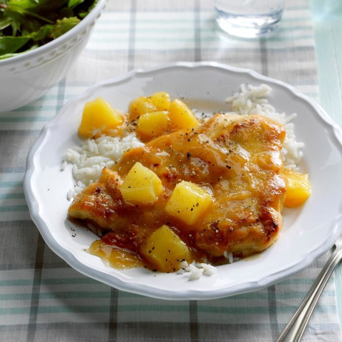 Thursday: Chicken with Pineapple