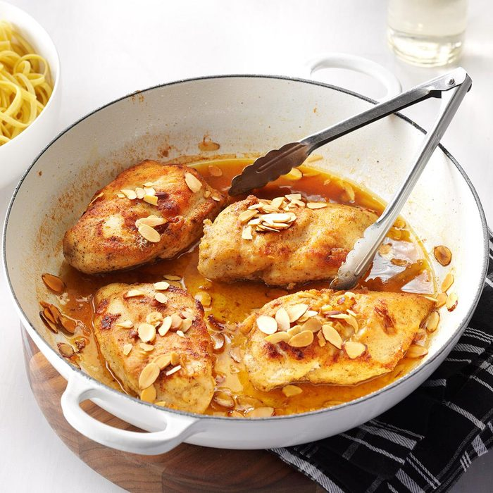 Chicken with White Wine Sauce