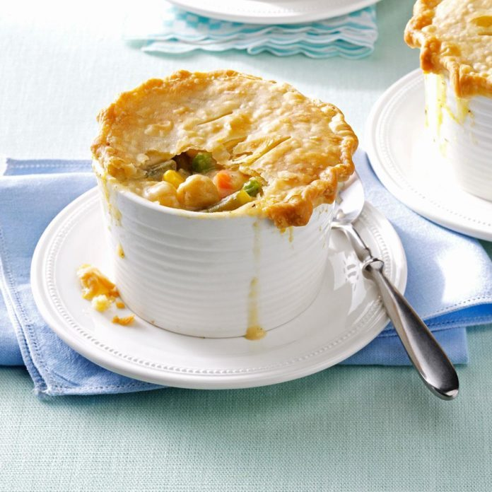 March: Chickpea Potpies