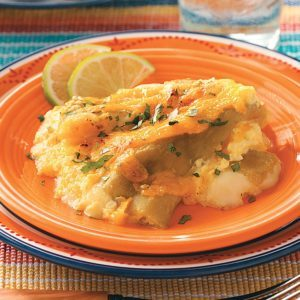 Two-Cheese Chiles Rellenos Casserole