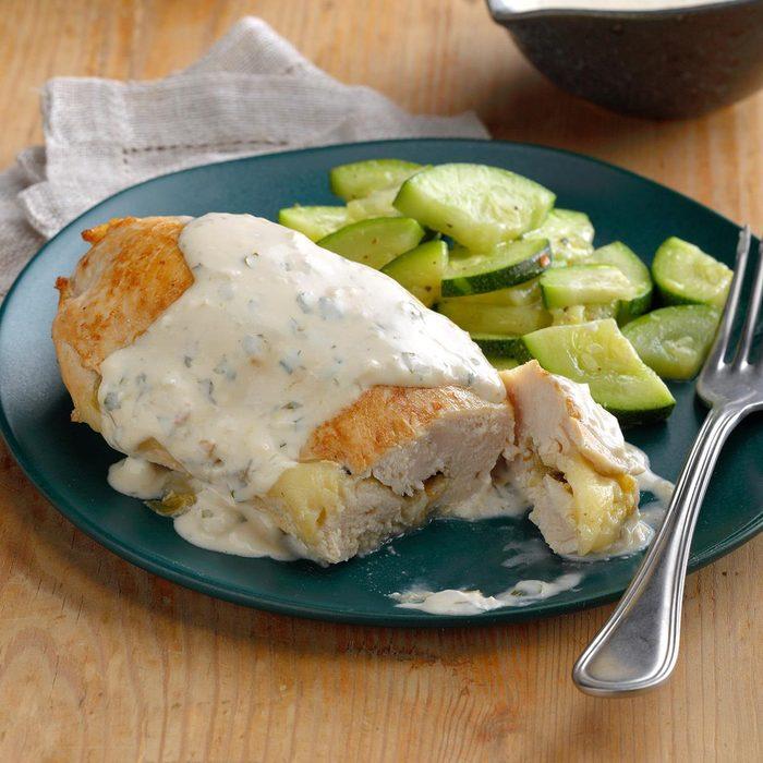 Chiles Rellenos Chicken
