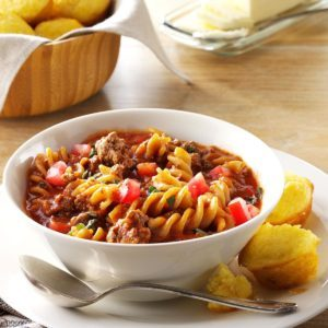 Chili Beef Pasta