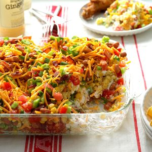 Chili Cornbread Salad