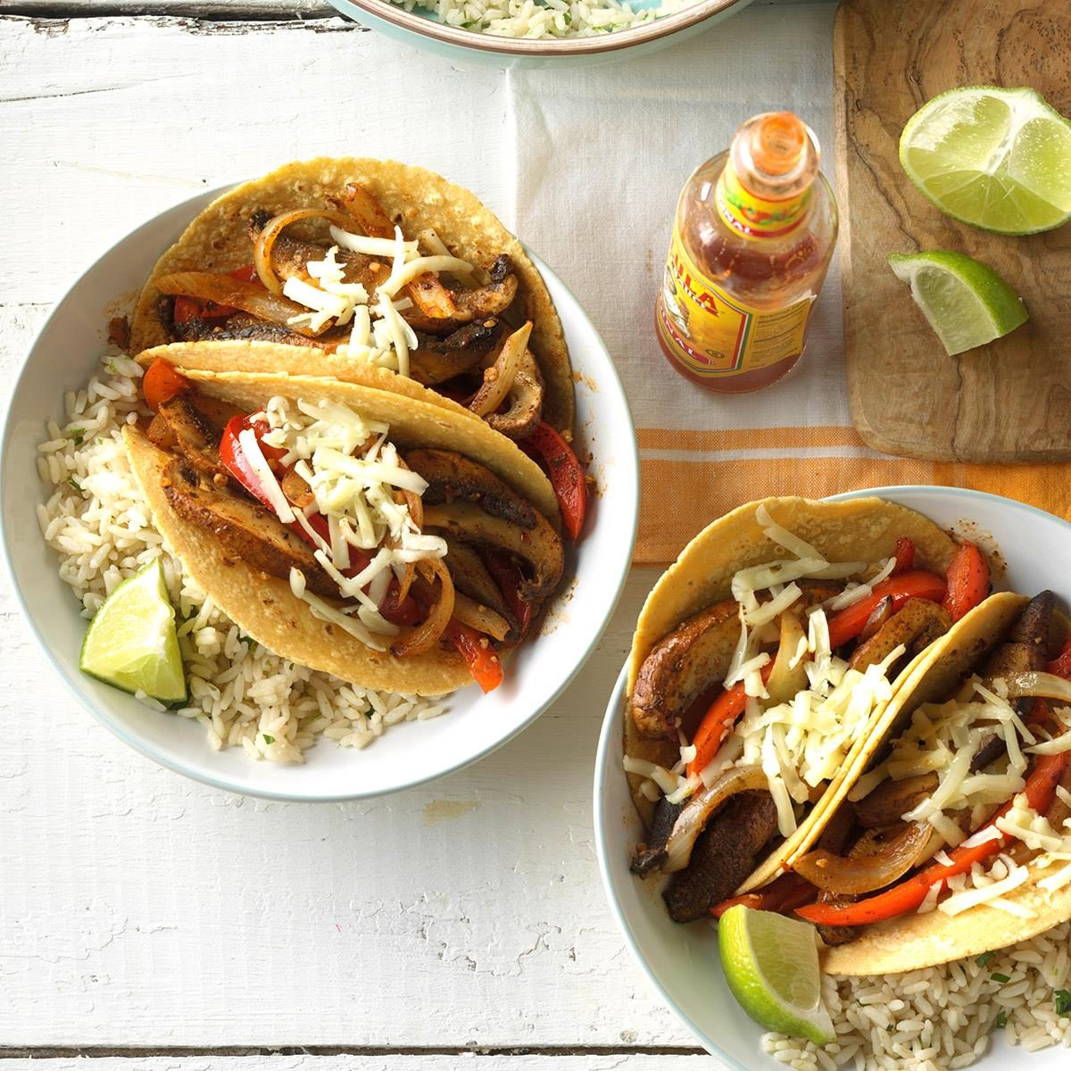 Wednesday: Chili-Lime Mushroom Tacos