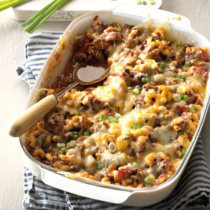 Wyoming: Chili Mac Casserole