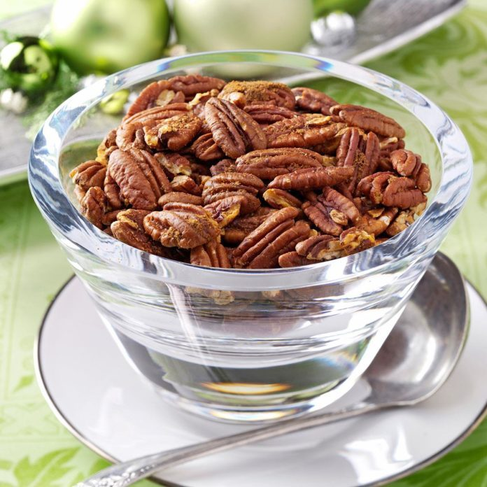 Chili Spiced Pecans