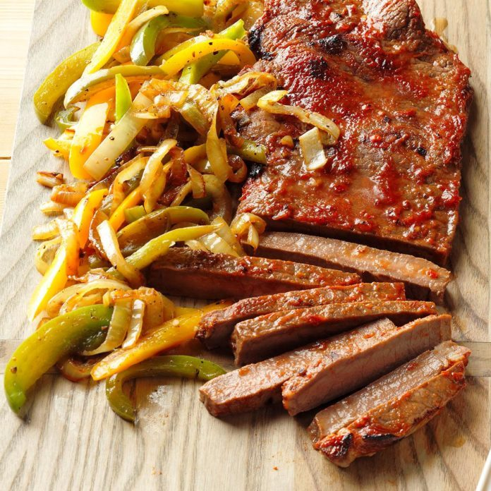 Chili Steak & Peppers