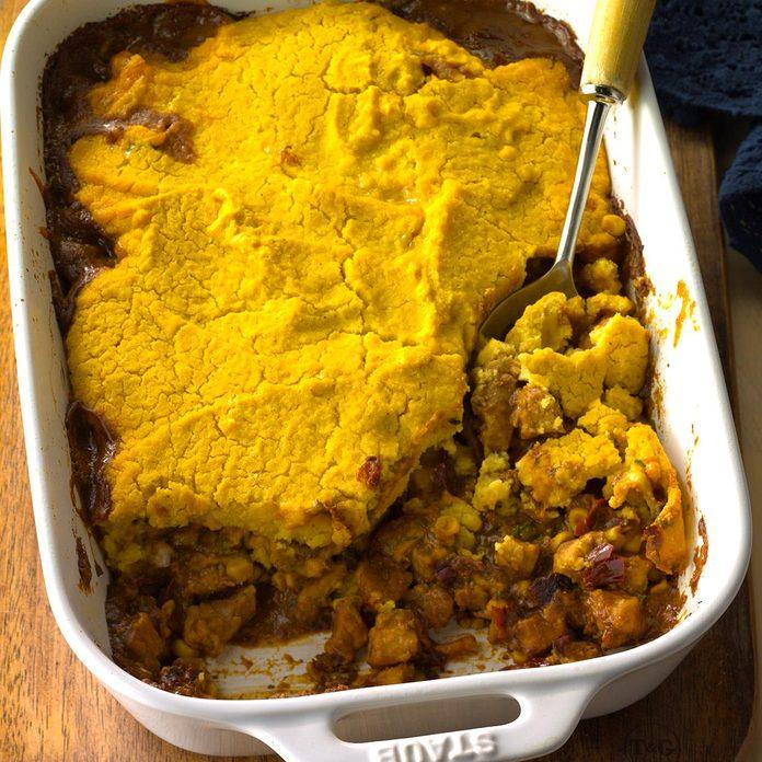 Chili Tamale Pie