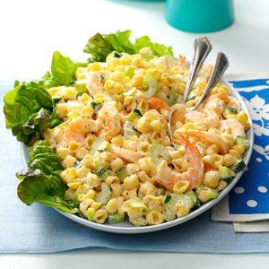 Chilled Shrimp Pasta Salad