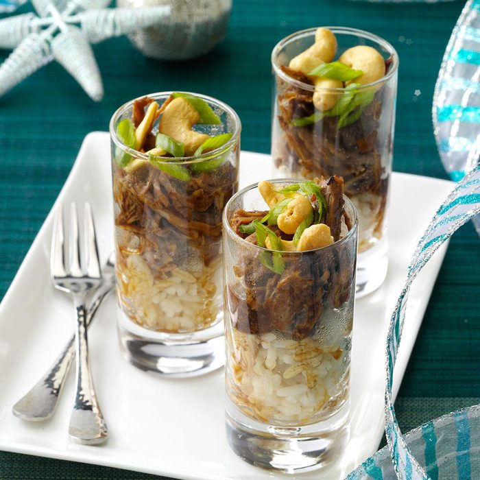 Chinese Barbecued Pork Parfaits