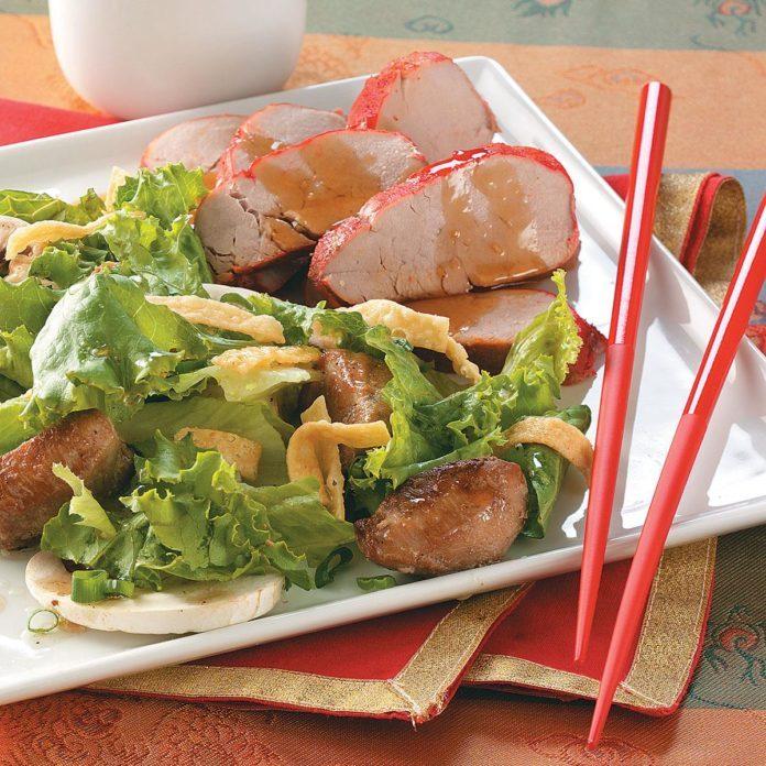 Chinese-Style Pork Tenderloin