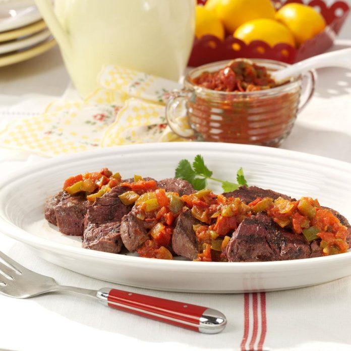 Chipotle Beef Tenderloins