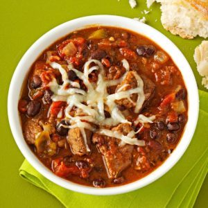Chipotle-Black Bean Chili