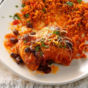 Chipotle Chicken with Spanish Rice