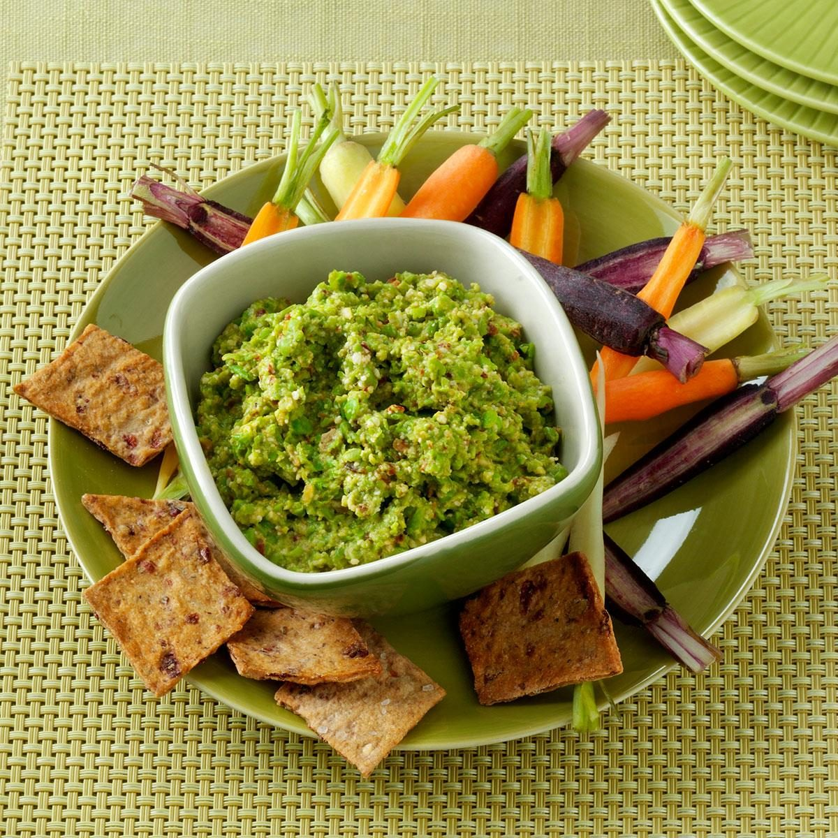 Chipotle Pea Spread