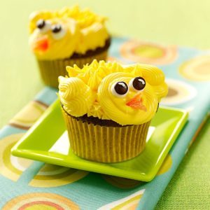 Chirpy Chick Cupcakes