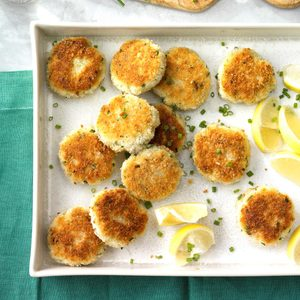 Chive Crab Cakes