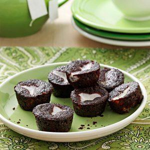 Chocolate-Bottom Mini-Cupcakes