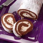 Chocolate Cannoli Cake Roll