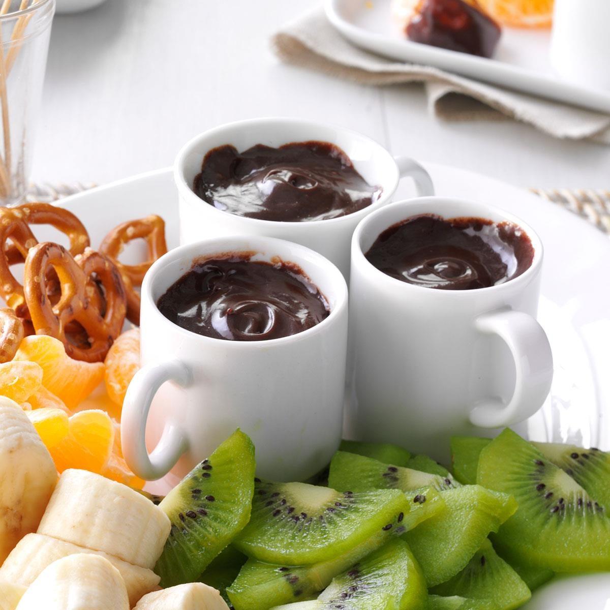 Chocolate Caramel Fondue