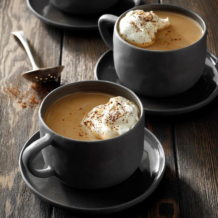 Taurus: Chocolate-Caramel Rum Coffee
