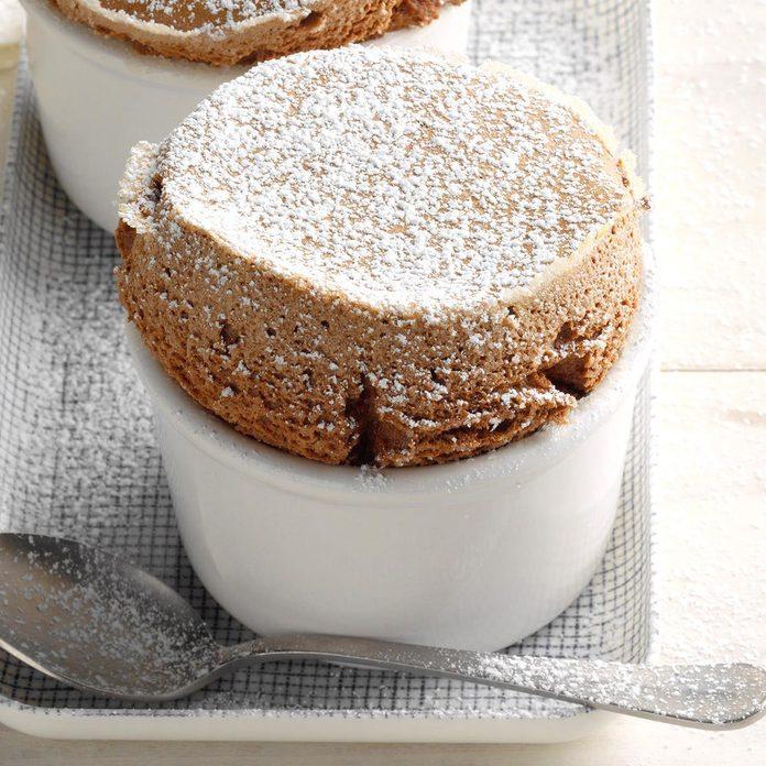 Chocolate Cayenne Souffles