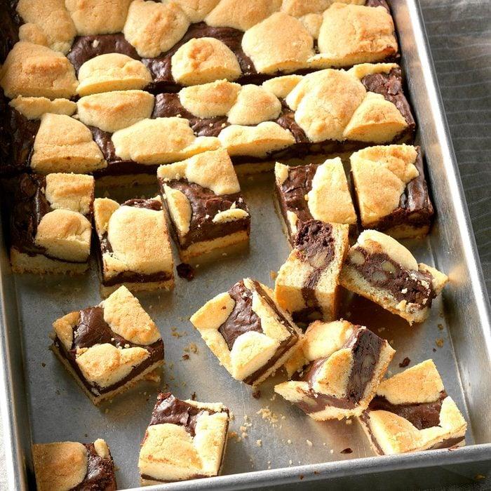 Day 18: Chocolate Cheesecake Bars