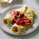 Chocolate Cherry Crepes
