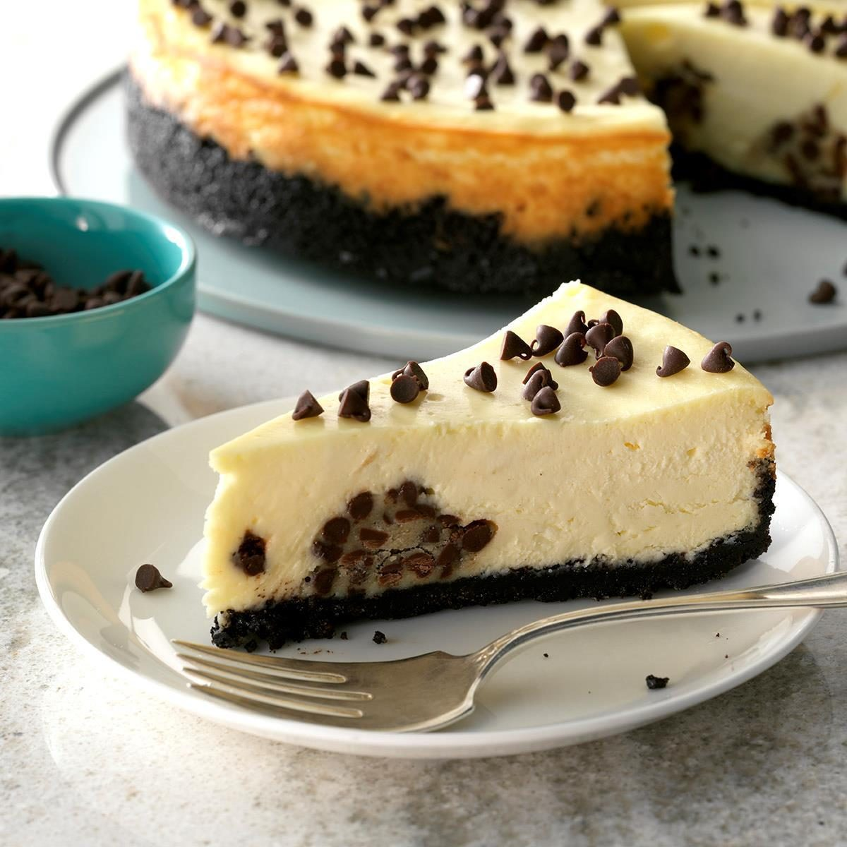 Inspired by: Cheesecake Factory Chocolate Chip Cookie Dough Cheesecake