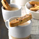 Chocolate Chip Mandelbrot Cookies