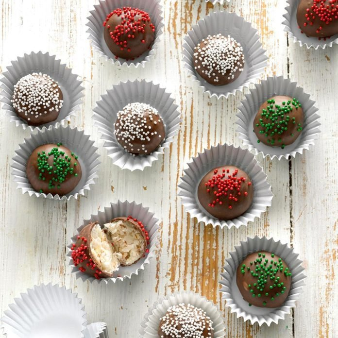 Chocolate Coconut Candies