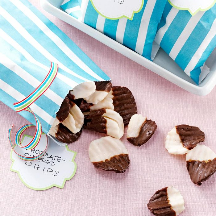 Chocolate-Covered Chips