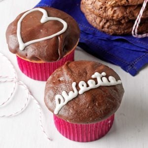 Chocolate Cream Cupcakes