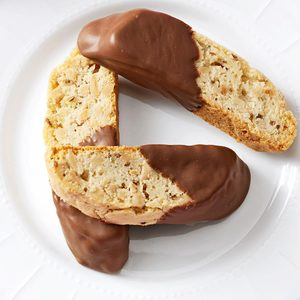 Chocolate-Dipped Anise Biscotti