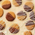 Chocolate-Dipped Triple-Ginger Cookies