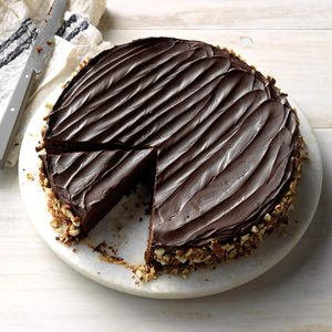 Chocolate Espresso-Nut Torte