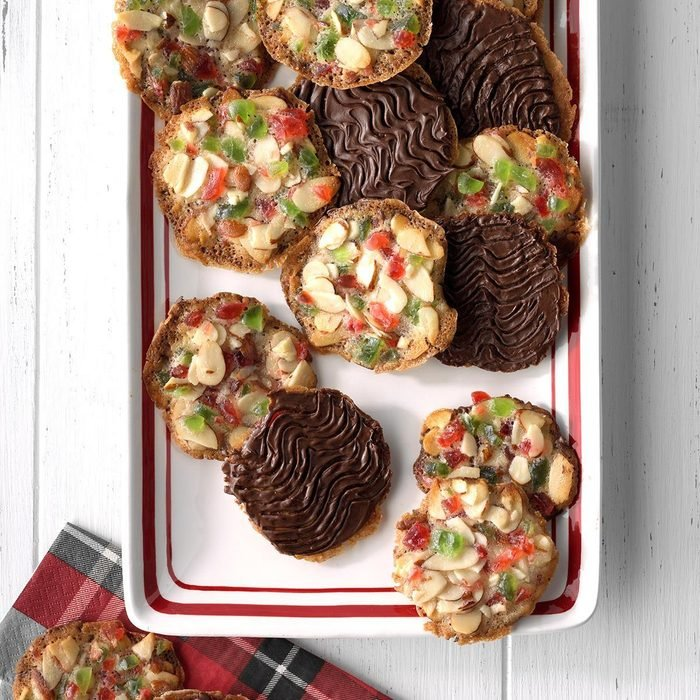 Chocolate Fruit N Nut Cookies
