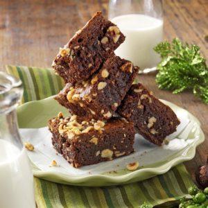 Chocolate Hazelnut Brownies