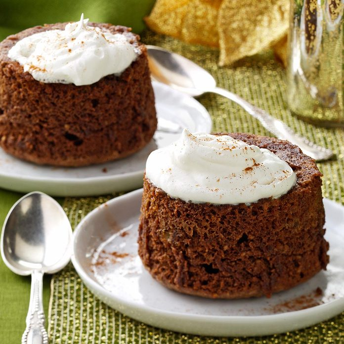 Chocolate Hazelnut Puddings