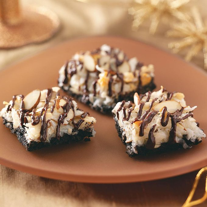 Chocolate Macaroon Bars