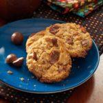 Chocolate Malt Ball Cookies