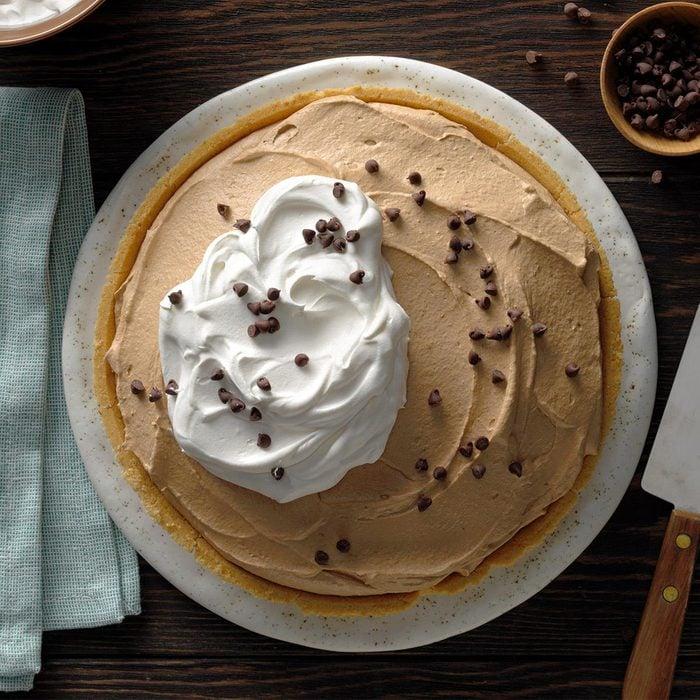 Chocolate Mousse Pumpkin Pie