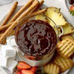 Chocolate Pecan Fondue