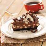 Chocolate Pie with Marshmallows