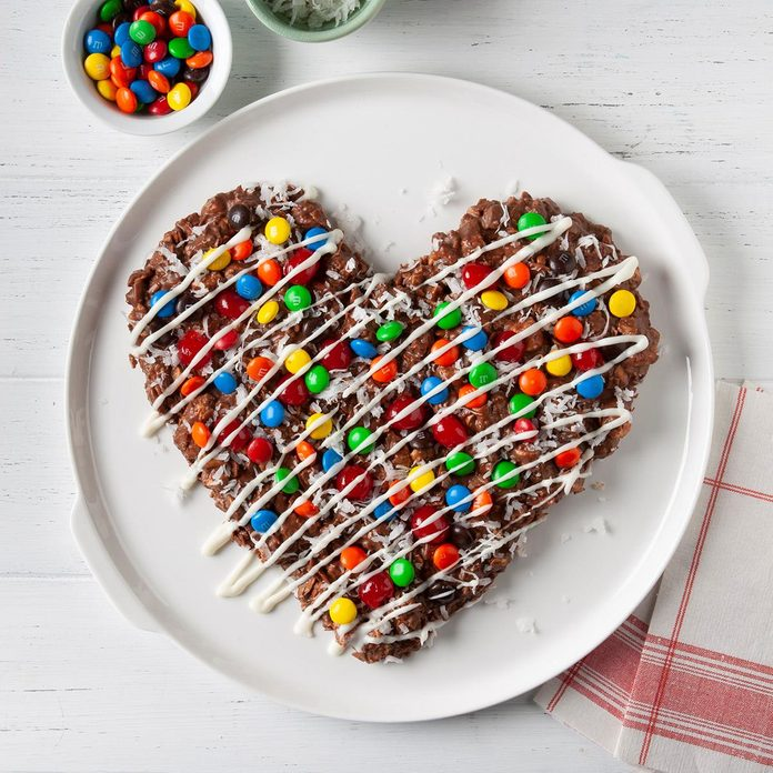 Candy Pizza Heart