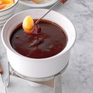 Chocolate-Raspberry Fondue
