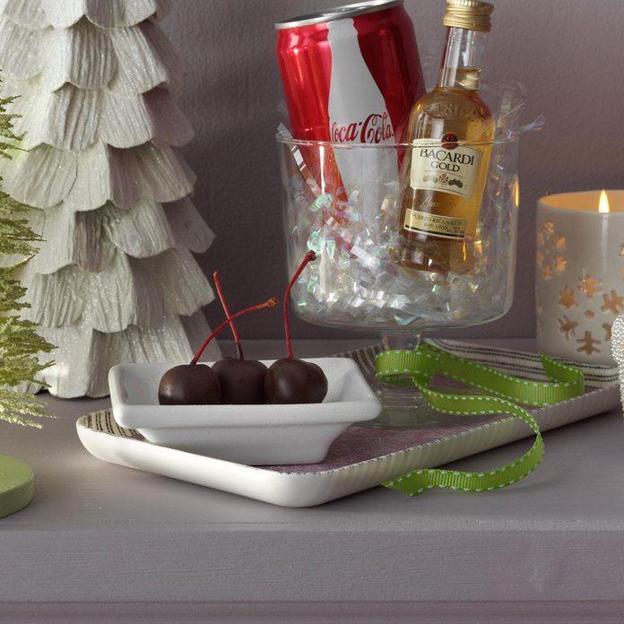 Chocolate Rum-Soaked Cherries