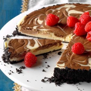 Chocolate Swirled Cheesecake