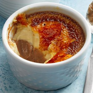 Chocolate and Vanilla Creme Brulee